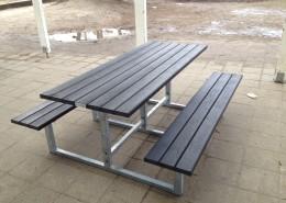 Længde 180 cm - Sort eller grå planke